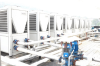 武汉大学采用哈思低温喷气增焓风冷冷热水机组