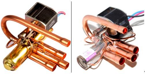 四通换向阀适用于中央,单元式和房间空调器等热泵图片