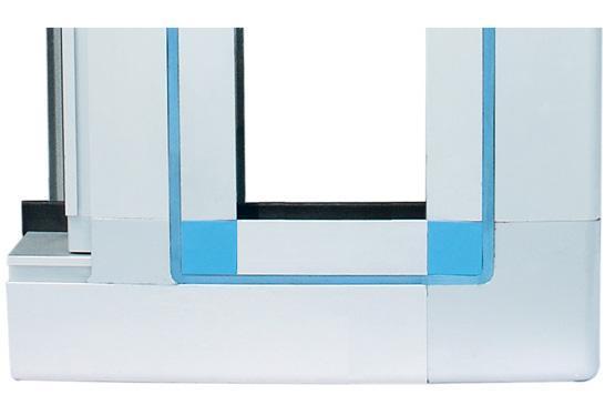 中央空调铝合金框架结构件