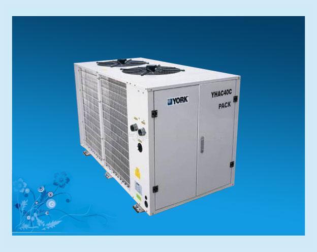 约克中央空调销售安装图片