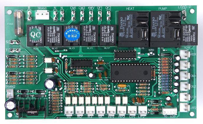 空气源热泵工程机控制器-电路板-制冷大市场