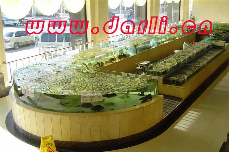 双层海鲜鱼缸