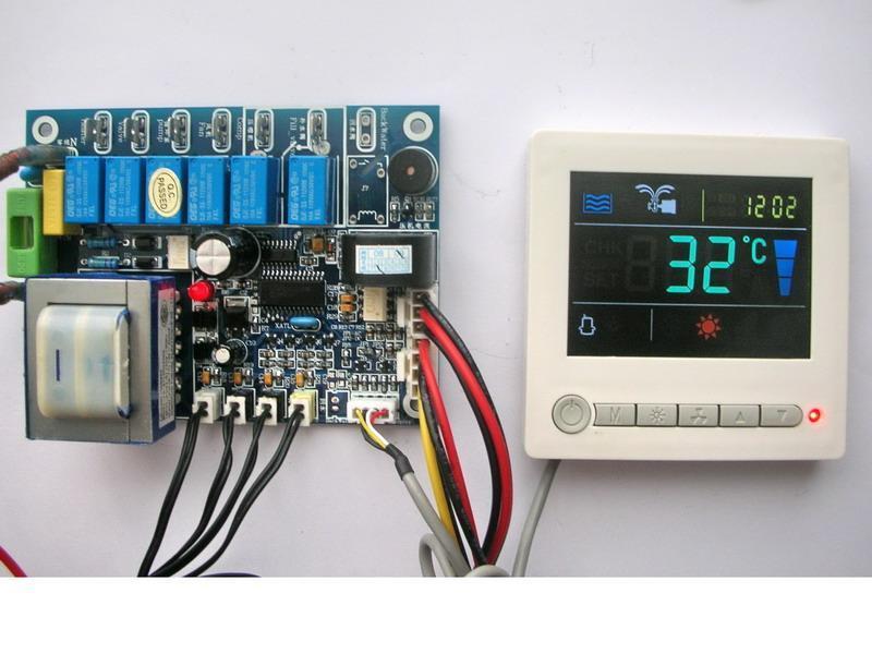 热泵热水器控制器_电路板_深圳市三控科技有限公司