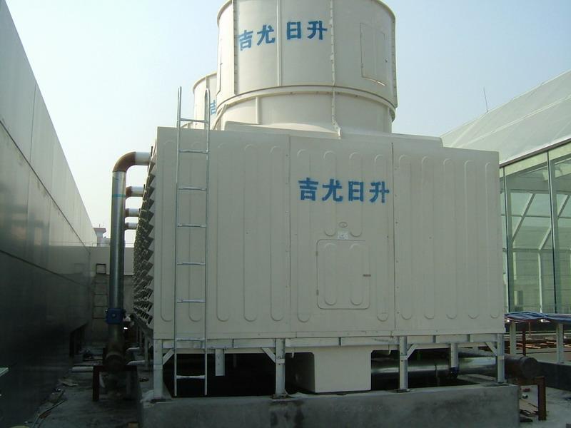 吉尤日升15t特价玻璃钢冷却塔图片