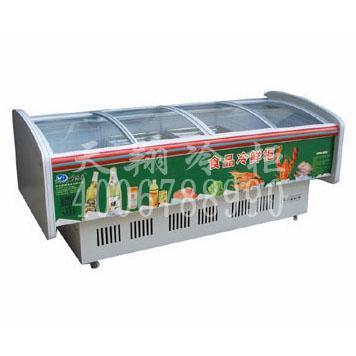 超市卧式冷柜海鲜柜