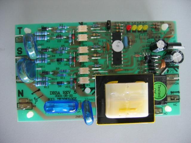 mcquay相序板db3a商业中央空调相序保护电路板