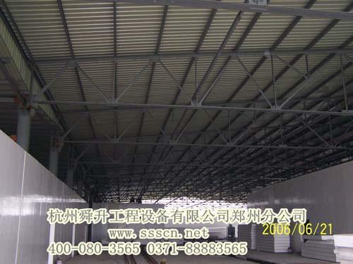 大型钢结构工程冷库图片_高清大图-空调制冷大市场