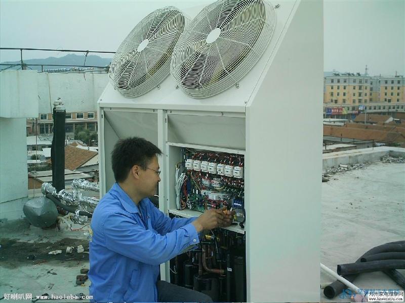 松江海信变频空调维修内机不启动