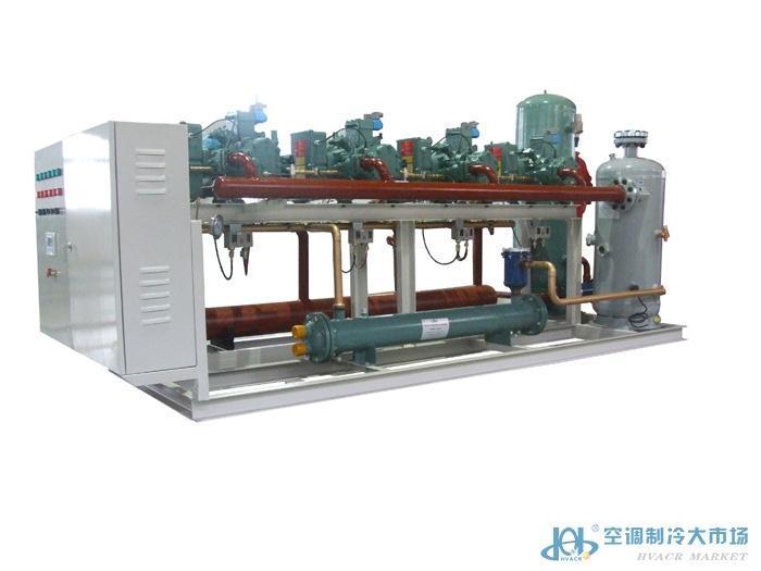 比泽尔中温螺杆并联压缩冷凝机组