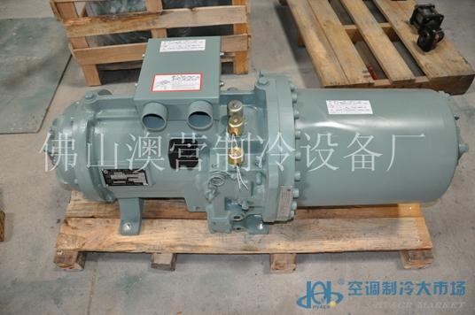 60hp日立螺杆制冷压缩机