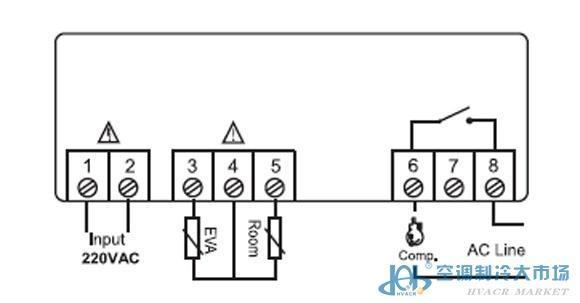 精创控制器,elitech,etc-60ht_空调系列_微电脑控制器