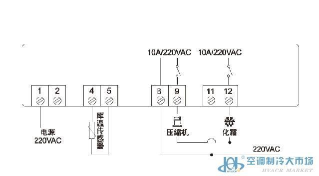 具备3分钟的压缩机保护延时,传感器故障后比例开停机,蜂鸣器报警及