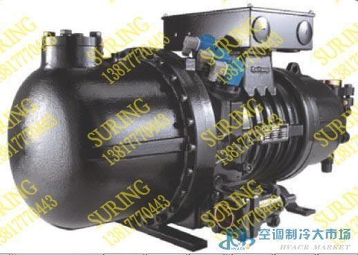 莱富康配件 压缩机维修 SRC-WL30 半封闭双螺杆压缩机,使用时安装外置油分离器。专门为中低温蒸发温度的冷冻应用的场合而设计。其包含两种机型,即采用旁通方法调节冷量的SRC-W系列和采用滑阀调节冷量的SW系列;SW系列压缩机的能量调节通过油压系统和滑阀实现,可实现四级能量调节或无级能量调节,SRC-W系列压缩机的能量调节通过旁通系统实现,可实现三级能量调节。针对不同的应用工况可进行最佳选型:SW1L和SRC-WL型号的压缩机,其内建容积比为4.