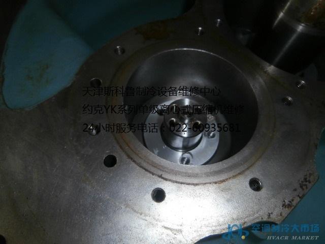 约克yk系列单级离心式压缩机维修图片