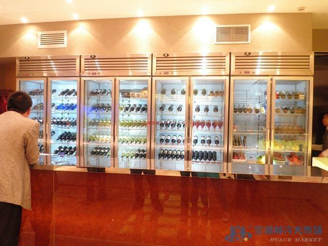 湖北红酒展示柜 酒吧红酒展示柜图片 高清大图