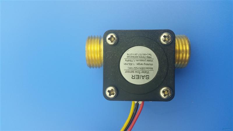 脉冲信号输出水流传感器 流量传感器