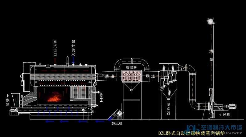 4吨蒸汽锅炉厂家 家用小型蒸汽锅炉