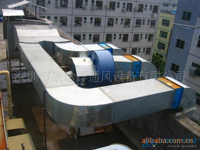 专业生产铁皮风管,工厂排气工程.图片_高清大图-空调
