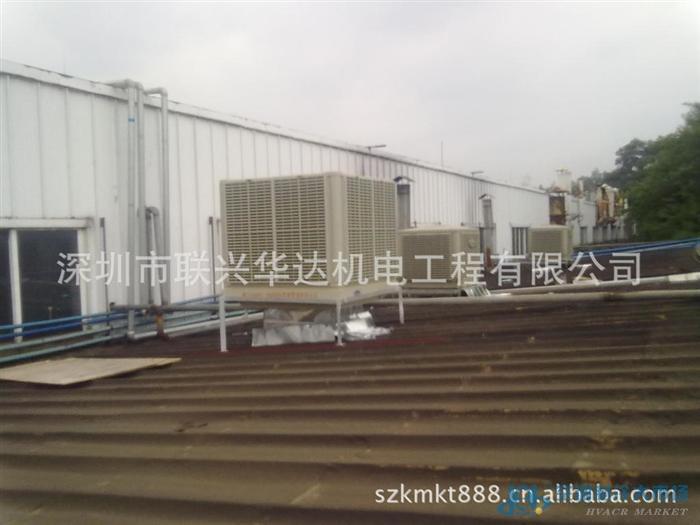 钢架结构厂房通风降温采用环保空调降温