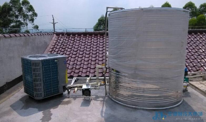 格力商用空气能热水器3p