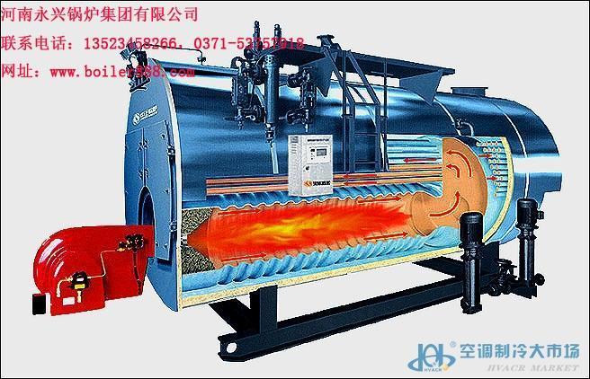 鹤壁4吨燃气蒸汽锅炉优质厂家