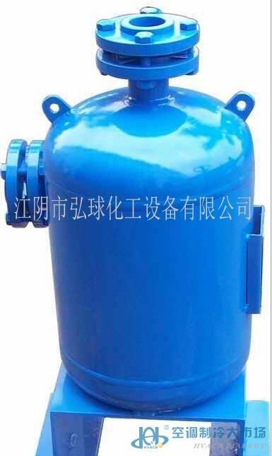 压缩机储液罐内部结构