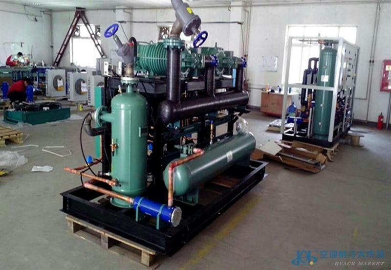 并联制冷机组自动蒸发压力调节装置,精确控制冷柜/冷库温度.