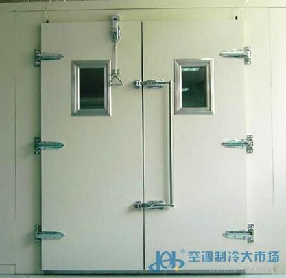 金正双开测试门-冷库门-空调制冷大市场