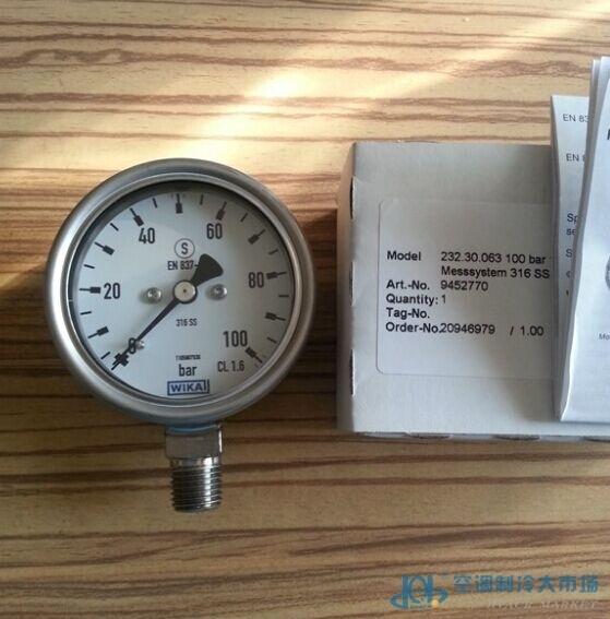 压力表-压力表-空调制冷大市场