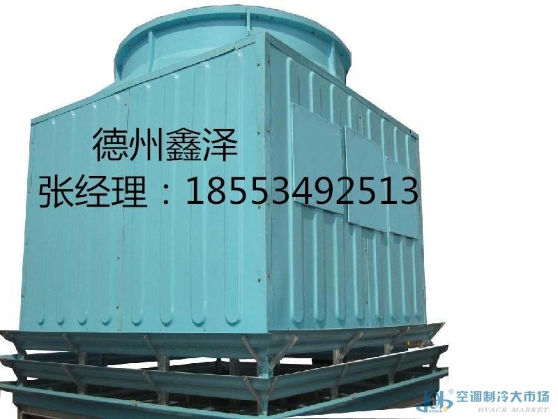 冷却塔的作用是将携带废热的冷却水在塔体内部与空气