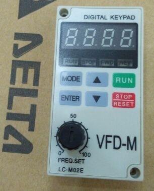 中达变频器vfd-m操作面板 lc-m02e特价出售