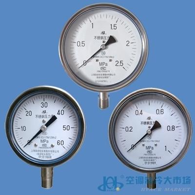 压力表不锈钢-压力表不锈钢价格-传感器-空调制冷大