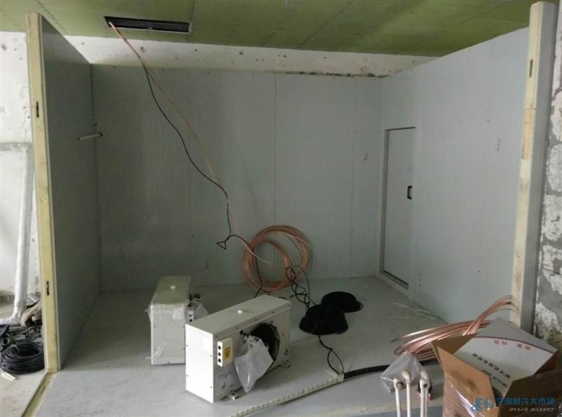 中小型冷库主要由围护结构,预制夹芯板等组成.