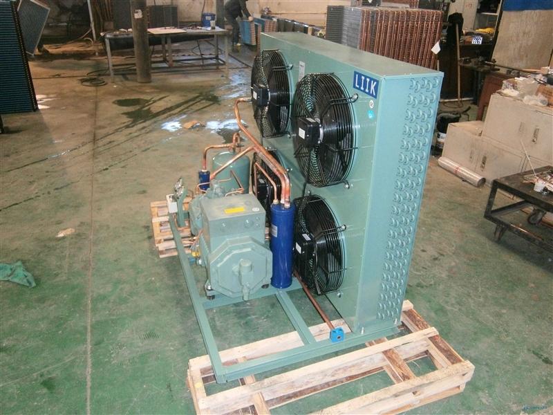 风冷比泽尔敞开式冷库机组