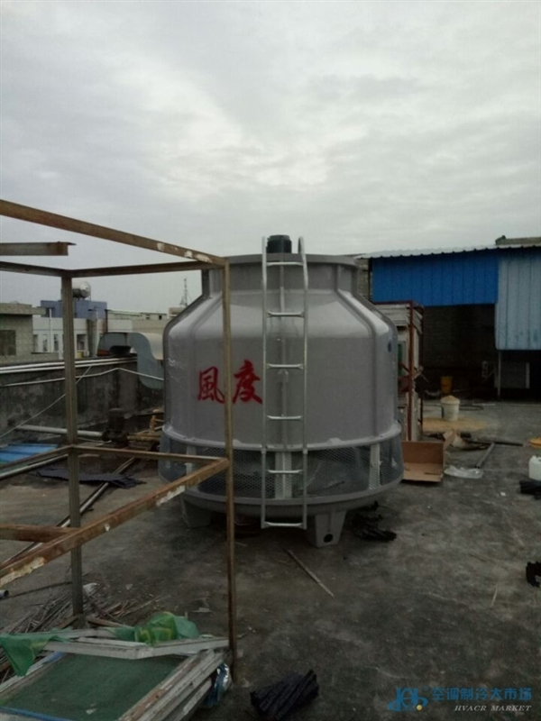 深圳塑胶厂冷却水塔风度牌fd-80降温冷却塔