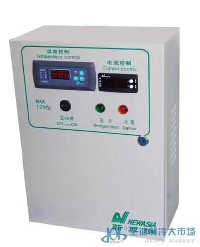 新亚洲电控箱制冷 化霜 相序保护15kw