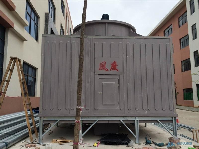 广西购物广场大厦配套冷却塔风度600T横流方形冷却塔