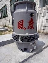 番禺环保设备配套冷水塔风度10T圆形凉水塔