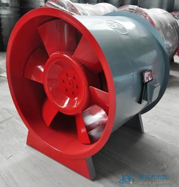 HTFC轴流排烟风机、低噪音排烟风机报价