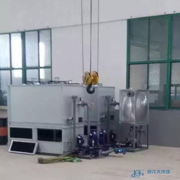 恒温恒湿试验室配套冷却塔风度25x2组合封闭式冷却水塔