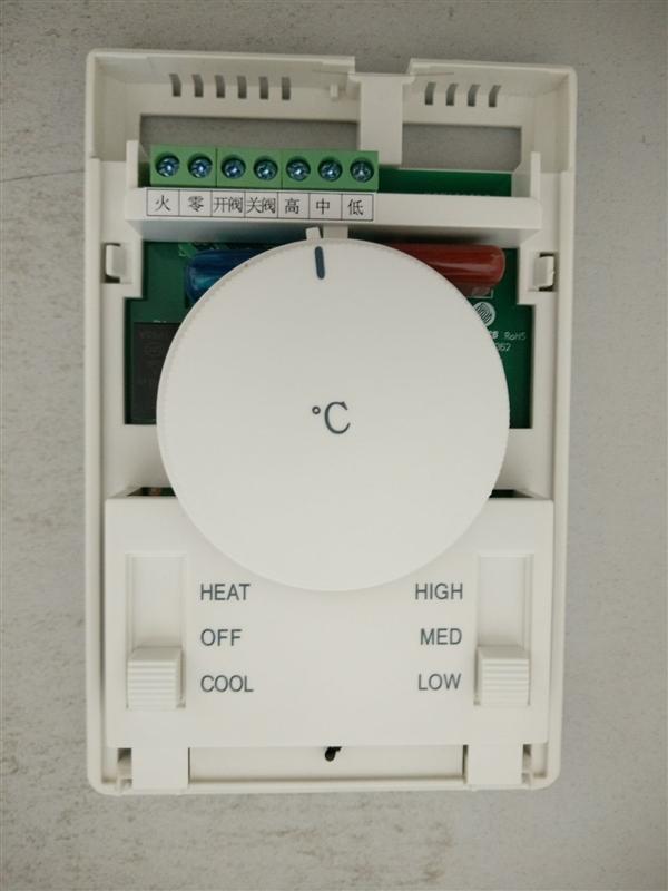 海林107DB2温控器,两管制中央空调控制面板