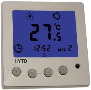 大功率电采暖液晶温控器