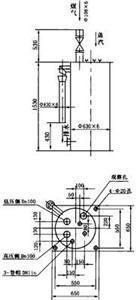 煤气管道单管冷凝水排水器