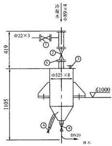 干式悬挂式排水器