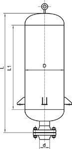 锅炉排气小孔消声器