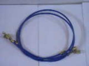 蓝色加液管