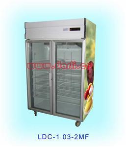 立式低温玻璃冷柜