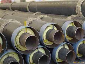 钢套钢复合型蒸汽预制直埋保温管