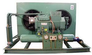 比泽尔20HP风冷冷凝压缩制冷机组