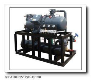 蒸发冷式螺杆制冷压缩冷凝机组